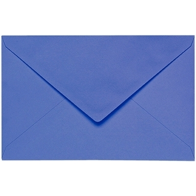 Artoz 1001 - 'Majestic Blue' Envelope. 140mm x 90mm 100gsm B7 Gummed Envelope.