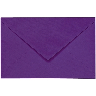 Artoz 1001 - 'Violet' Envelope. 140mm x 90mm 100gsm B7 Gummed Envelope.
