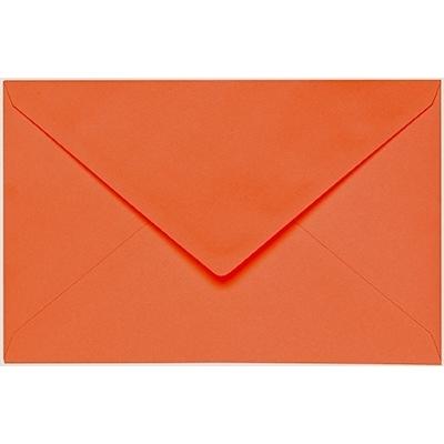Artoz 1001 - 'Lobster Red' Envelope. 140mm x 90mm 100gsm B7 Gummed Envelope.