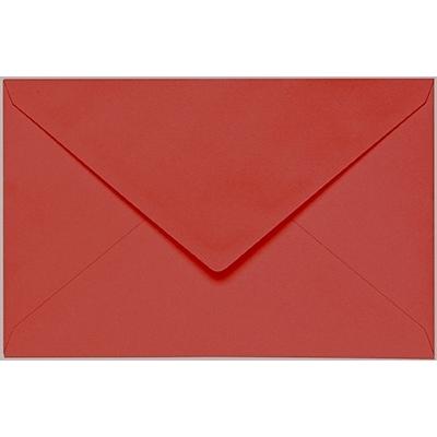 Artoz 1001 - 'Fire Red' Envelope. 140mm x 90mm 100gsm B7 Gummed Envelope.