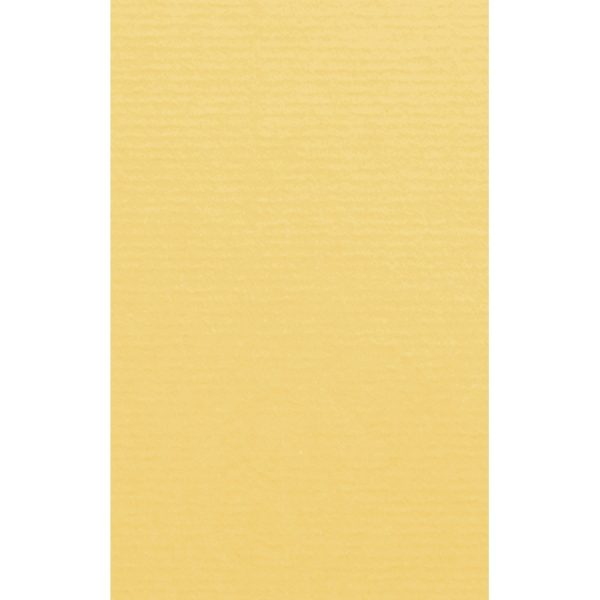 Artoz 1001 - 'Light Yellow' Card. 135mm x 85mm 220gsm B7 Card.