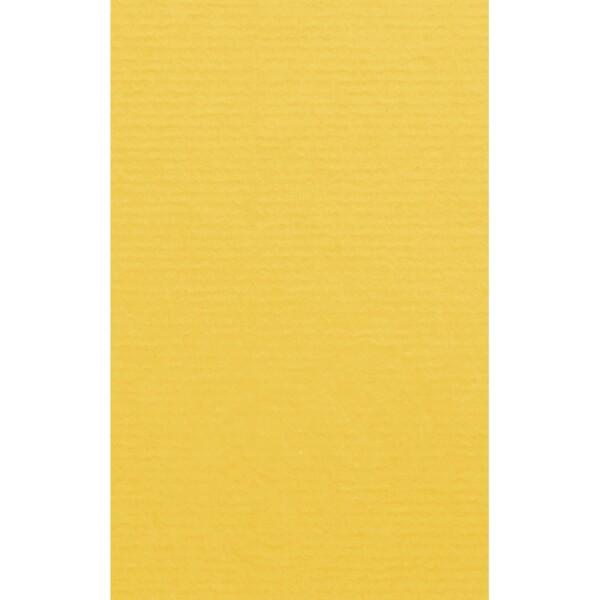 Artoz 1001 - 'Sun Yellow' Card. 135mm x 85mm 220gsm B7 Card.