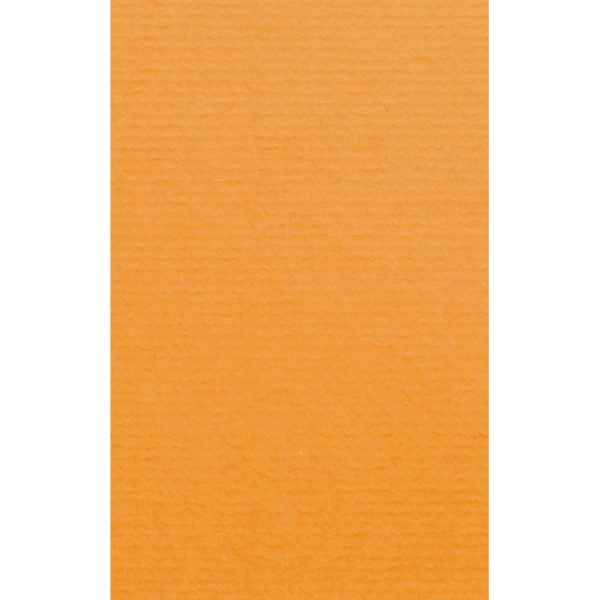 Artoz 1001 - 'Orange' Card. 135mm x 85mm 220gsm B7 Card.