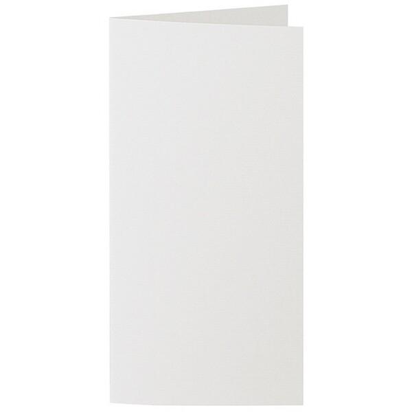 Artoz 1001 - 'Silver Grey' Card. 210mm x 210mm 220gsm DL Bi-Fold (Long Edge) Card.