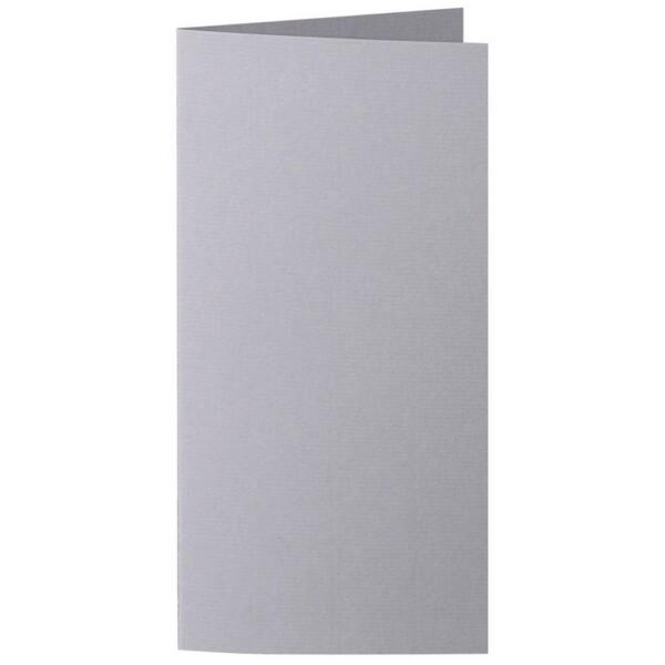 Artoz 1001 - 'Graphite' Card. 210mm x 210mm 220gsm DL Bi-Fold (Long Edge) Card.