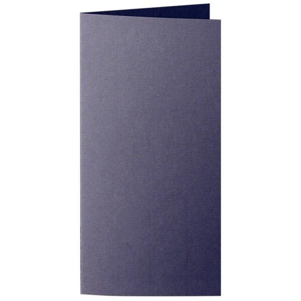 Artoz 1001 - 'Jet Black' Card. 210mm x 210mm 220gsm DL Bi-Fold (Long Edge) Card.
