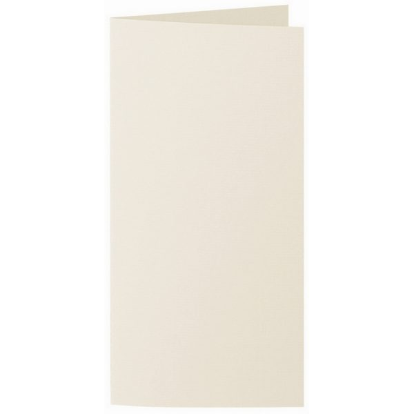 Artoz 1001 - 'Chamois' Card. 210mm x 210mm 220gsm DL Bi-Fold (Long Edge) Card.