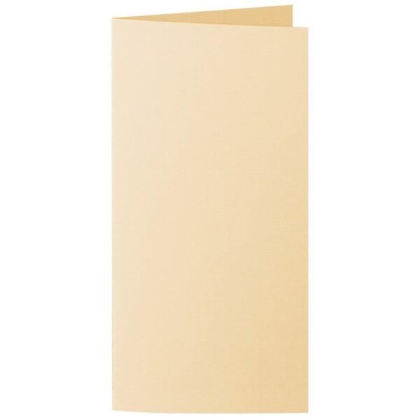 Artoz 1001 - 'Honey Yellow' Card. 210mm x 210mm 220gsm DL Bi-Fold (Long Edge) Card.