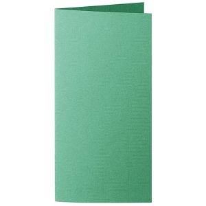 Artoz 1001 - 'Firtree Green' Card. 210mm x 210mm 220gsm DL Bi-Fold (Long Edge) Card.
