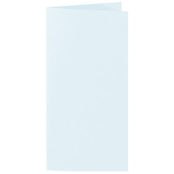 Artoz 1001 - 'Light Blue' Card. 210mm x 210mm 220gsm DL Bi-Fold (Long Edge) Card.