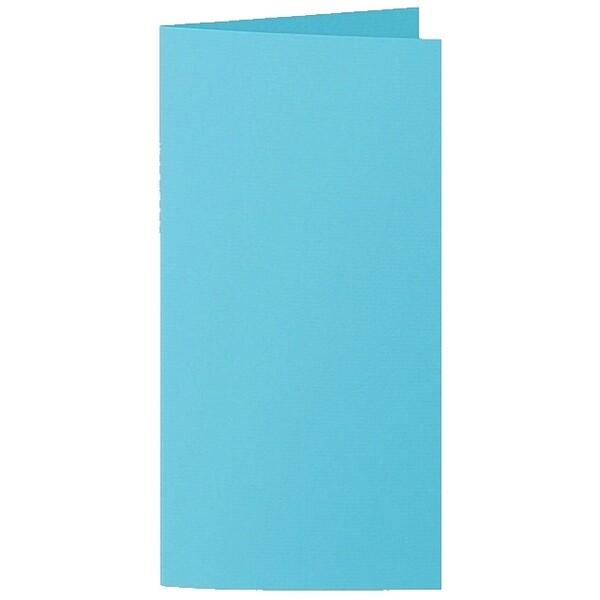 Artoz 1001 - 'Turquoise' Card. 210mm x 210mm 220gsm DL Bi-Fold (Long Edge) Card.