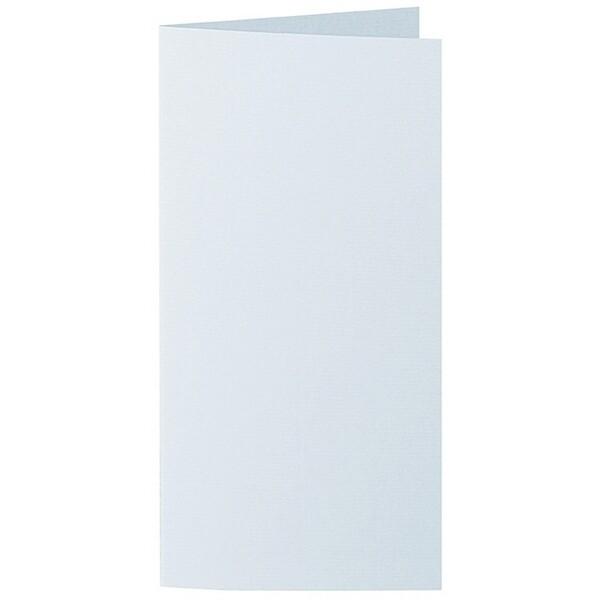 Artoz 1001 - 'Sky Blue' Card. 210mm x 210mm 220gsm DL Bi-Fold (Long Edge) Card.