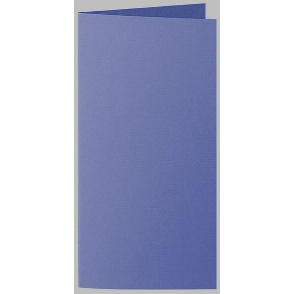 Artoz 1001 - 'Indigo' Card. 210mm x 210mm 220gsm DL Bi-Fold (Long Edge) Card.