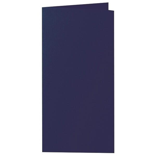 Artoz 1001 - 'Navy Blue' Card. 210mm x 210mm 220gsm DL Bi-Fold (Long Edge) Card.