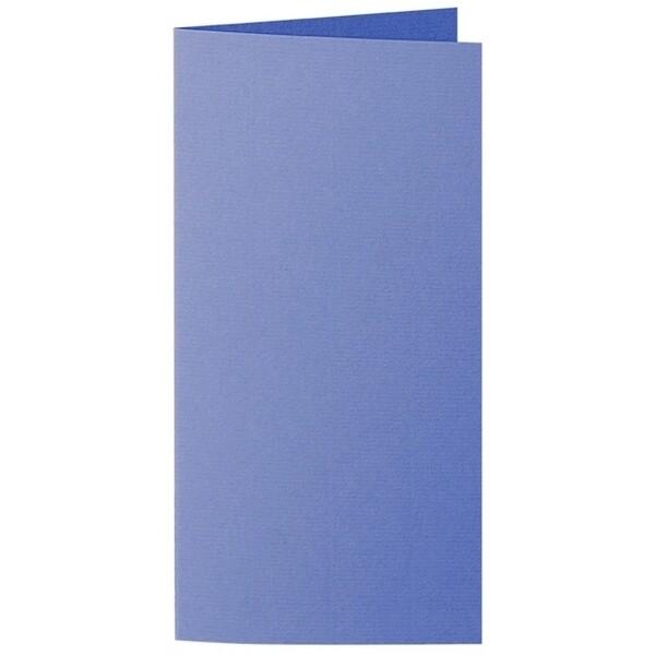 Artoz 1001 - 'Majestic Blue' Card. 210mm x 210mm 220gsm DL Bi-Fold (Long Edge) Card.