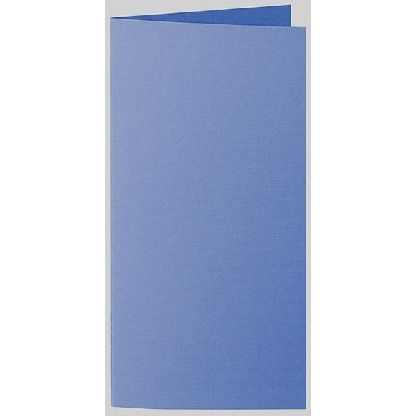 Artoz 1001 - 'Royal Blue' Card. 210mm x 210mm 220gsm DL Bi-Fold (Long Edge) Card.