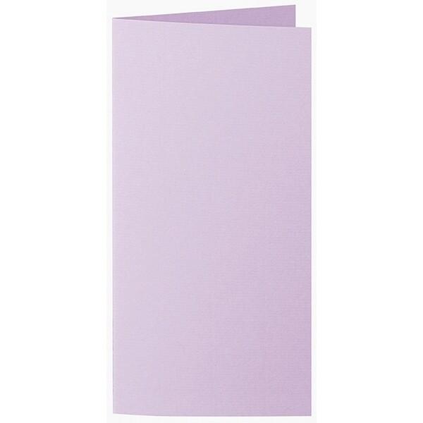 Artoz 1001 - 'Lilac' Card. 210mm x 210mm 220gsm DL Bi-Fold (Long Edge) Card.