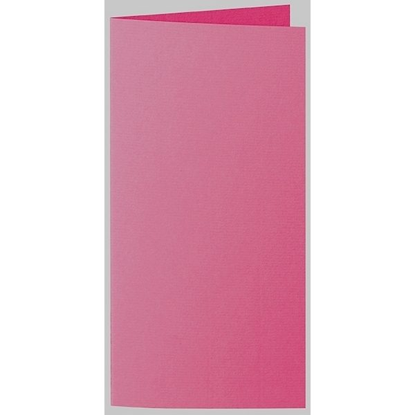 Artoz 1001 - 'Fuchsia' Card. 210mm x 210mm 220gsm DL Bi-Fold (Long Edge) Card.