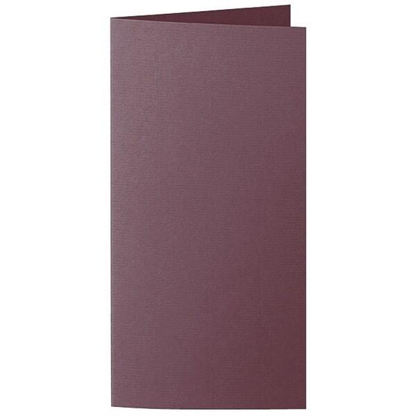Artoz 1001 - 'Marsala' Card. 210mm x 210mm 220gsm DL Bi-Fold (Long Edge) Card.