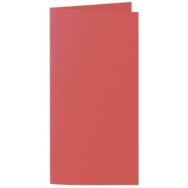 Artoz 1001 - 'Watermelon' Card. 210mm x 210mm 220gsm DL Bi-Fold (Long Edge) Card.