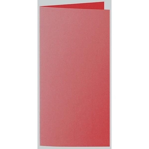 Artoz 1001 - 'Red' Card. 210mm x 210mm 220gsm DL Bi-Fold (Long Edge) Card.
