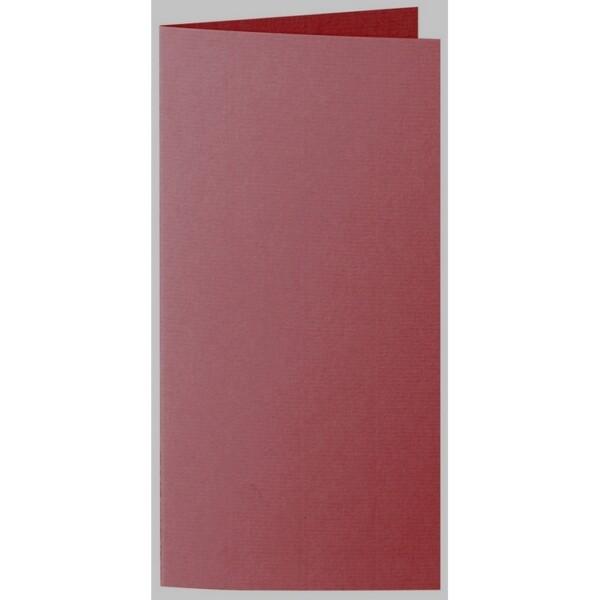 Artoz 1001 - 'Bordeaux' Card. 210mm x 210mm 220gsm DL Bi-Fold (Long Edge) Card.