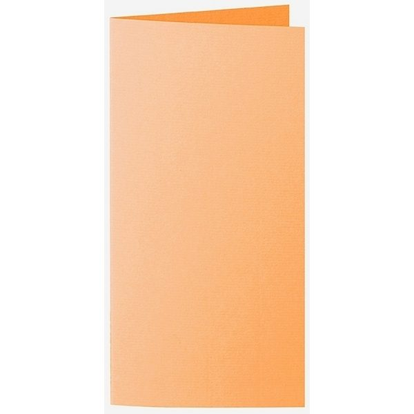Artoz 1001 - 'Mango' Card. 210mm x 210mm 220gsm DL Bi-Fold (Long Edge) Card.