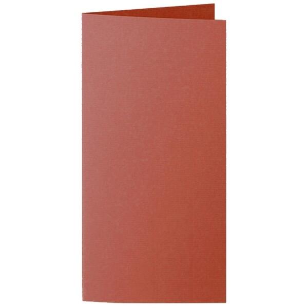 Artoz 1001 - 'Copper' Card. 210mm x 210mm 220gsm DL Bi-Fold (Long Edge) Card.