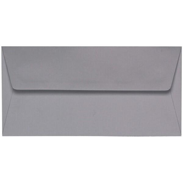 Artoz 1001 - 'Graphite' Envelope. 220mm x 110mm 100gsm DL Peel/Seal Lined Envelope.