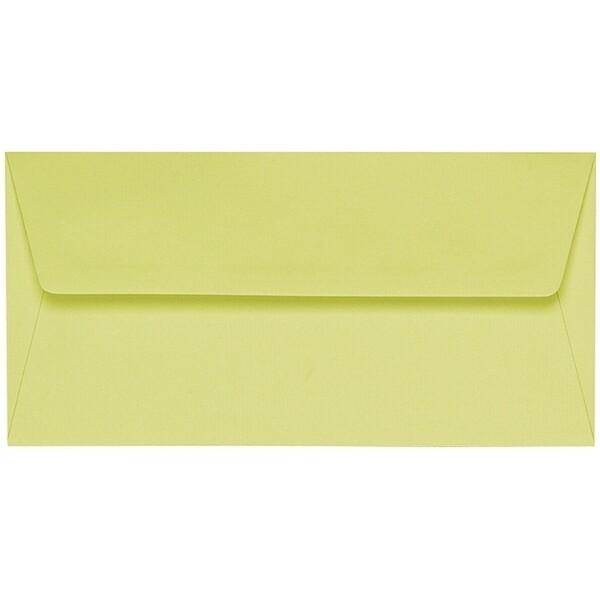 Artoz 1001 - 'Lime' Envelope. 220mm x 110mm 100gsm DL Peel/Seal Lined Envelope.