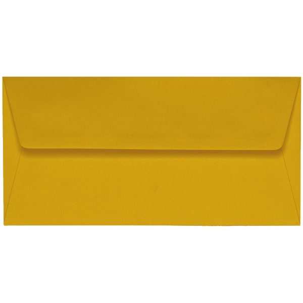 Artoz 1001 - 'Kiwi' Envelope. 220mm x 110mm 100gsm DL Peel/Seal Lined Envelope.