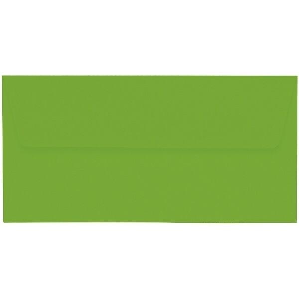 Artoz 1001 - 'Pea Green' Envelope. 220mm x 110mm 100gsm DL Peel/Seal Lined Envelope.
