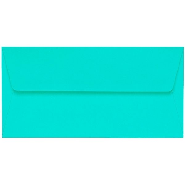Artoz 1001 - 'Emerald Green' Envelope. 220mm x 110mm 100gsm DL Peel/Seal Lined Envelope.