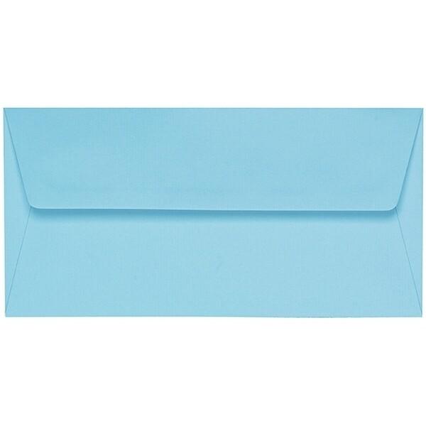 Artoz 1001 - 'Azure Blue' Envelope. 220mm x 110mm 100gsm DL Peel/Seal Lined Envelope.