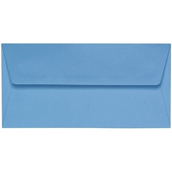 Artoz 1001 - 'Marine Blue' Envelope. 220mm x 110mm 100gsm DL Peel/Seal Lined Envelope.
