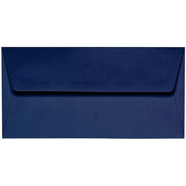 Artoz 1001 - 'Classic Blue' Envelope. 220mm x 110mm 100gsm DL Peel/Seal Lined Envelope.