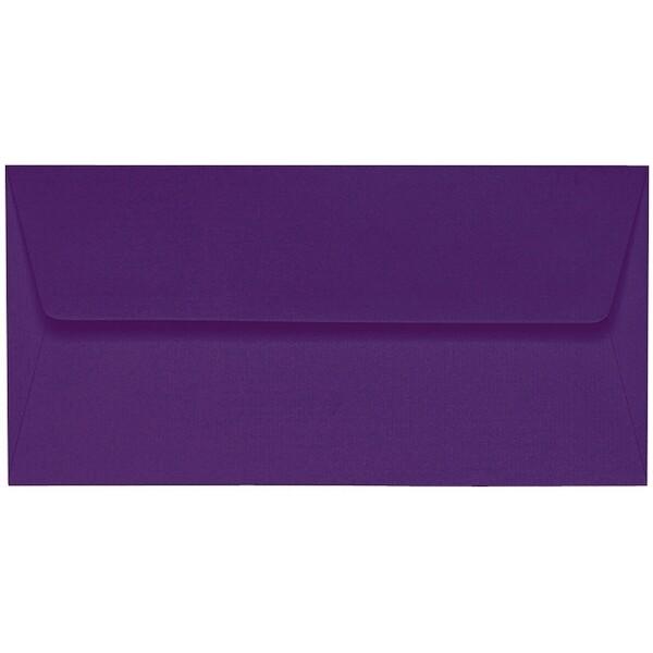 Artoz 1001 - 'Violet' Envelope. 220mm x 110mm 100gsm DL Peel/Seal Lined Envelope.