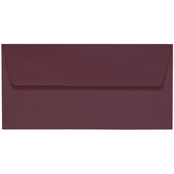 Artoz 1001 - 'Marsala' Envelope. 220mm x 110mm 100gsm DL Peel/Seal Lined Envelope.