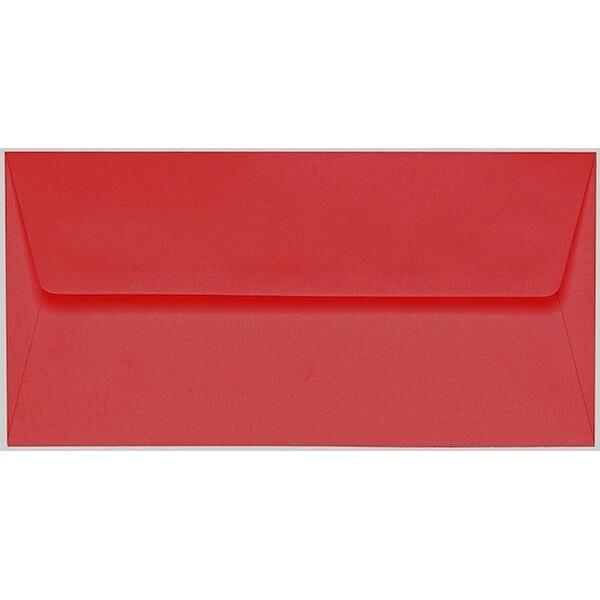 Artoz 1001 - 'Red' Envelope. 220mm x 110mm 100gsm DL Peel/Seal Lined Envelope.