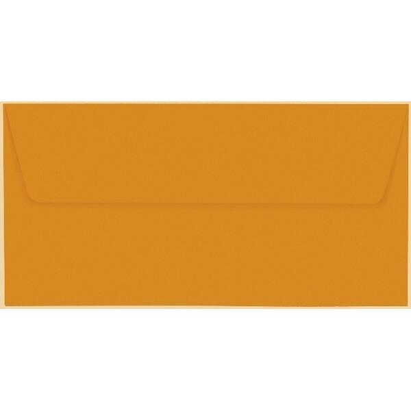 Artoz 1001 - 'Mandarin' Envelope. 220mm x 110mm 100gsm DL Peel/Seal Lined Envelope.