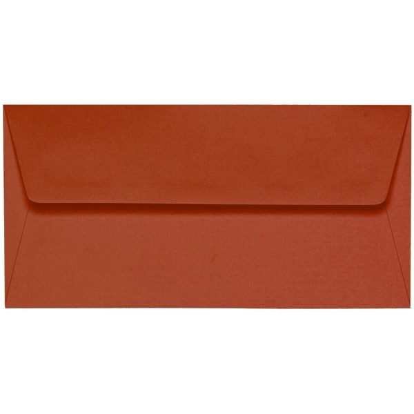Artoz 1001 - 'Copper' Envelope. 220mm x 110mm 100gsm DL Peel/Seal Lined Envelope.
