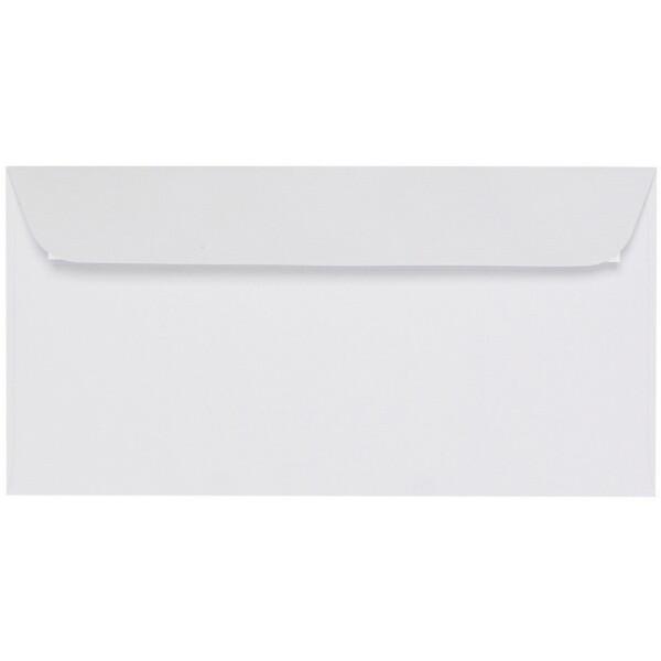 Artoz 1001 - 'Blossom White' Envelope. 224mm x 114mm 100gsm DL Peel/Seal Envelope.