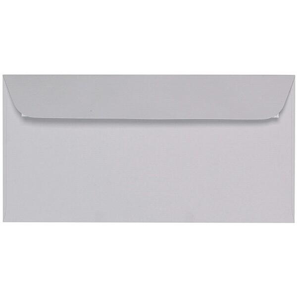 Artoz 1001 - 'Light Grey' Envelope. 224mm x 114mm 100gsm DL Peel/Seal Envelope.