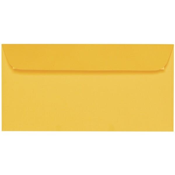Artoz 1001 - 'Sun Yellow' Envelope. 224mm x 114mm 100gsm DL Peel/Seal Envelope.