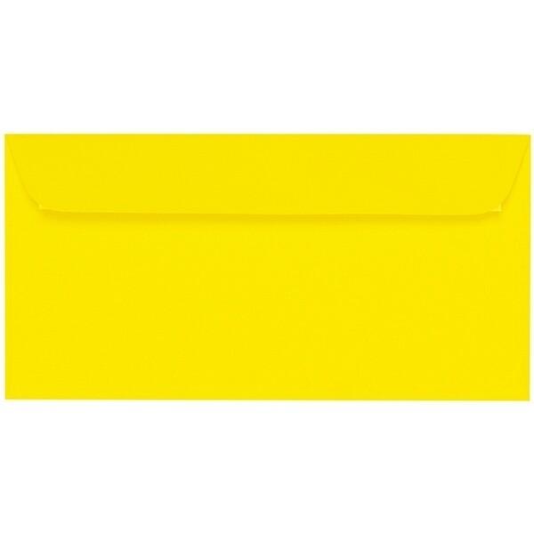 Artoz 1001 - 'Corn Yellow' Envelope. 224mm x 114mm 100gsm DL Peel/Seal Envelope.