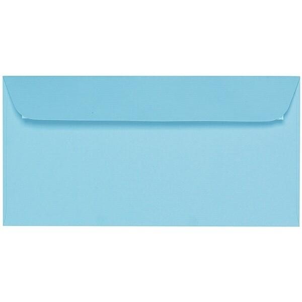 Artoz 1001 - 'Azure Blue' Envelope. 224mm x 114mm 100gsm DL Peel/Seal Envelope.