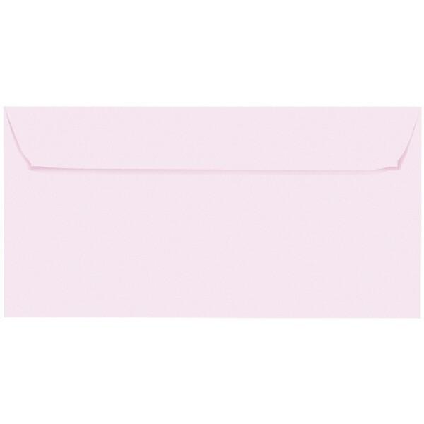 Artoz 1001 - 'Delicate Pink' Envelope. 224mm x 114mm 100gsm DL Peel/Seal Envelope.