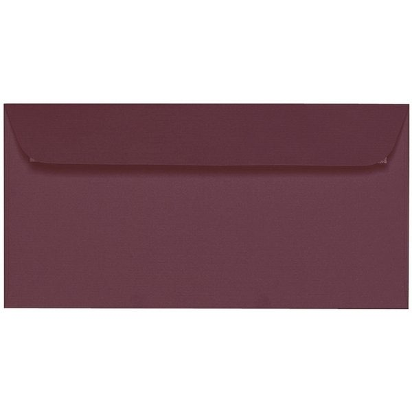 Artoz 1001 - 'Marsala' Envelope. 224mm x 114mm 100gsm DL Peel/Seal Envelope.