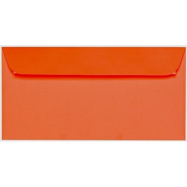 Artoz 1001 - 'Lobster Red' Envelope. 224mm x 114mm 100gsm DL Peel/Seal Envelope.