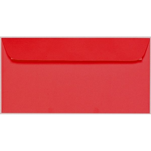 Artoz 1001 - 'Light Red' Envelope. 224mm x 114mm 100gsm DL Peel/Seal Envelope.